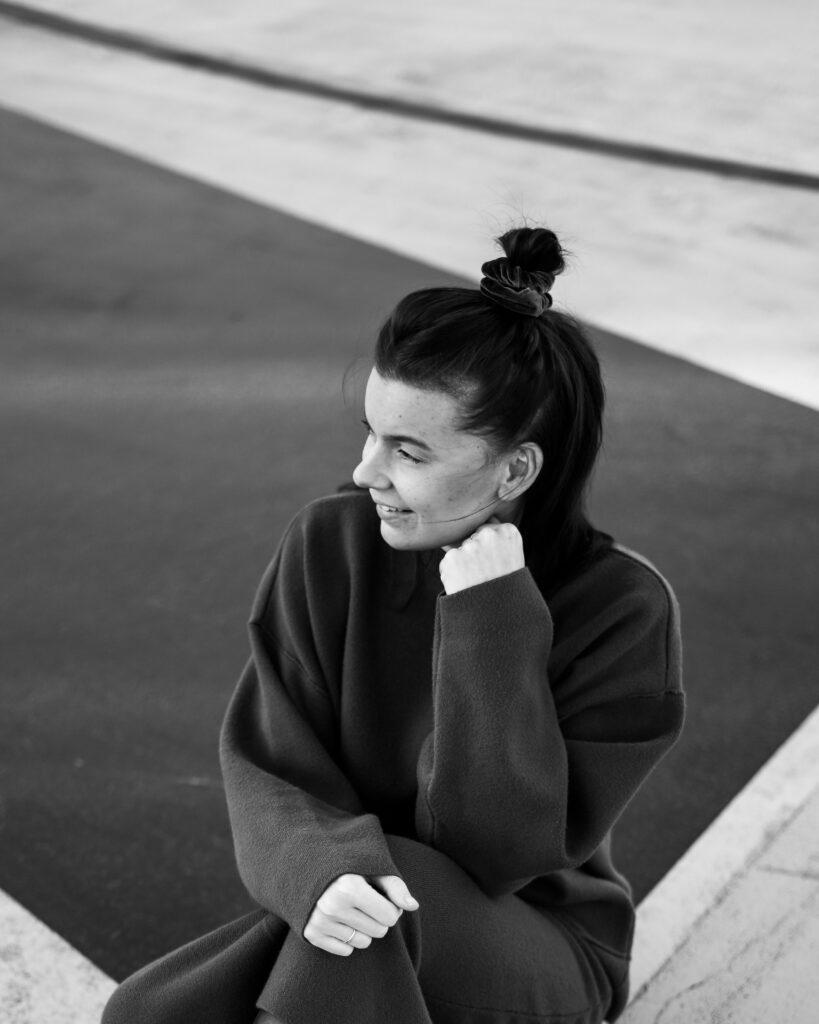 Portretfoto van model Kayleigh